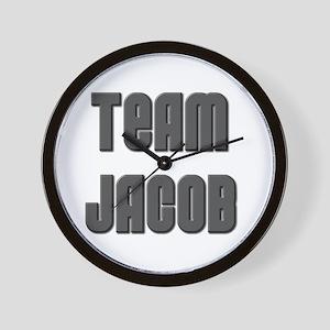 Twilight ~ Team Jacob [BLK[ Wall Clock